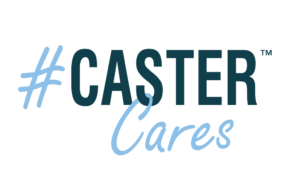 Caster Cares Logo